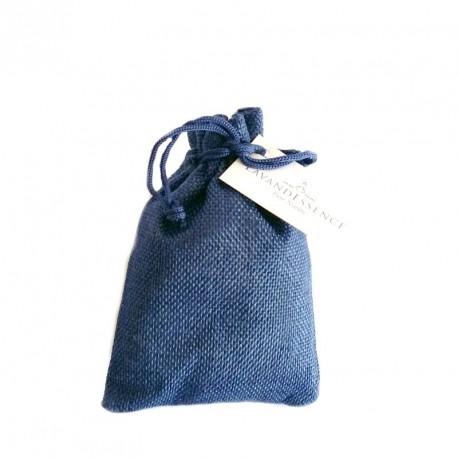 Săculeț cu lavandă panză - albastru